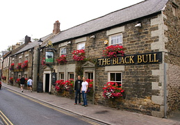 Black Bull Pub i Corrbridge