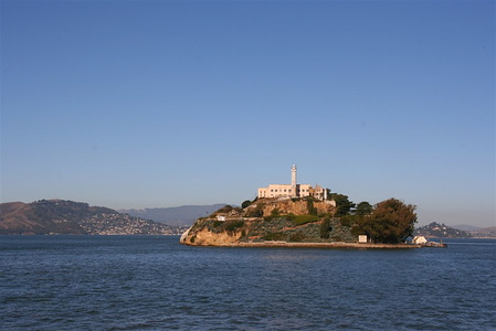 Alcatraz up close