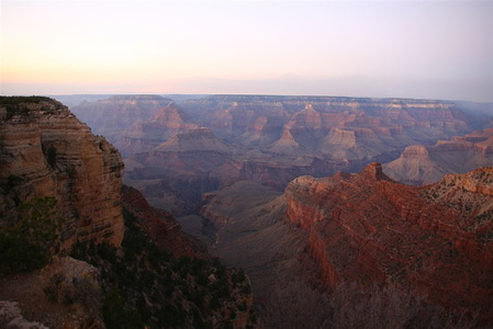Grand Canyon just after sunset