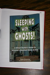 Frontpage of Sleeping with Ghosts