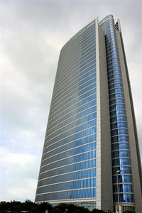 The tallest building on the Corniche