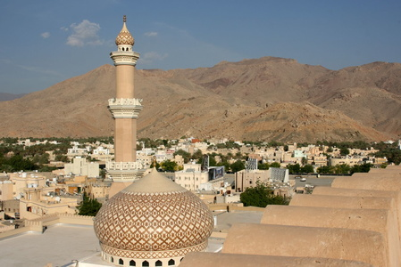 View over Nizwa from the fort