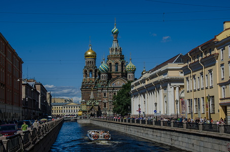 Saviour on the Spilled Blood, St Petersburg